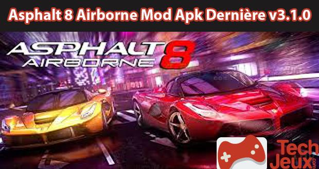 Asphalt 8 Airborne Mod Apk Dernière v3.5.0