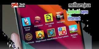 jeux Android sans internet