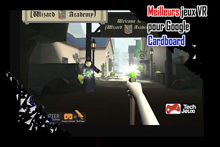 jeux VR pour Google Cardboard