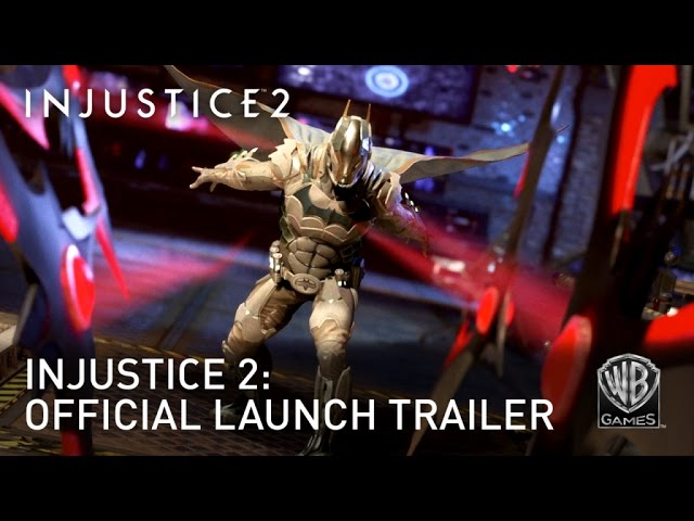 Injustice 2 Out maintenant sur PC
