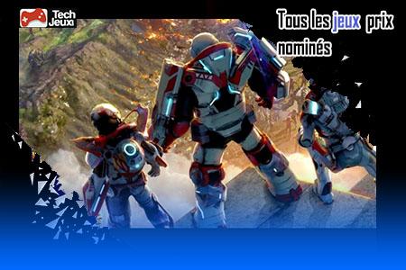 jeux prix nominés