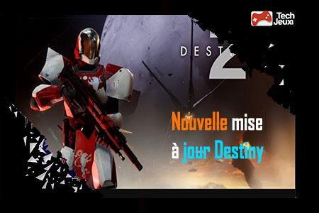 mise à jour destiny 2