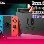 forcer le redémarrage du commutateur nintendo switch