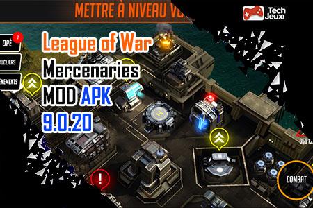 League of War Mercenaries MOD APK